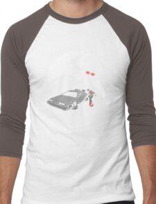 Flight of the Delorean Men's Baseball ¾ T-Shirt