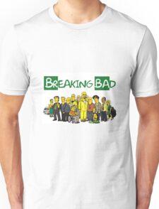 The Simpsons ( Breaking bad) Unisex T-Shirt