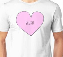 MARK AND LEXIE (SLEXIE) CANDY HEART Unisex T-Shirt