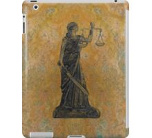 Lady Justice 27M iPad Case/Skin