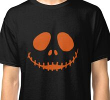 Halloween Pumpkin Face Classic T-Shirt
