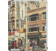 CANAL vs. BROADWAY iPad Case/Skin