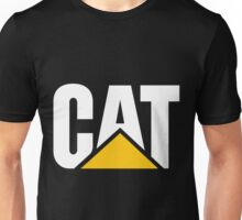 Caterpillar Logo White Unisex T-Shirt