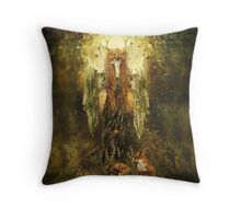 Forest Spirit Throw Pillow
