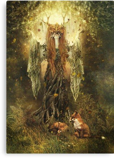 Forest Spirit by gingerkelly