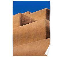 Escaleras de Santa Fe Poster