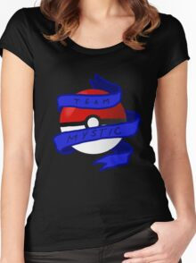 Mystic Pokeball Women's Fitted Scoop T-Shirt