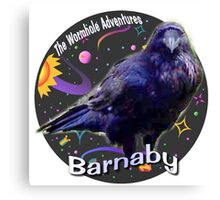 Barnaby the raven Canvas Print