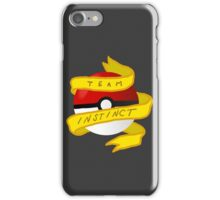 Instinct Pokeball iPhone Case/Skin
