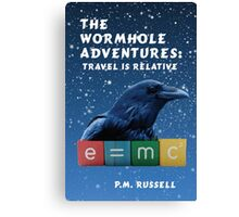 The Wormhole Adventures: Travel is Relative Canvas Print