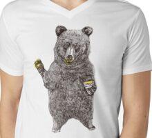 Oh, Hi Bear! Mens V-Neck T-Shirt