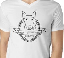 Paws To Pavement Dog Walking San Diego Mens V-Neck T-Shirt