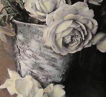 Roses in Birch by Barbara Wyeth