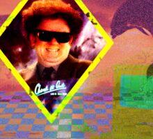 Aesthetic Vaporwave ft. Steve Brule Sticker
