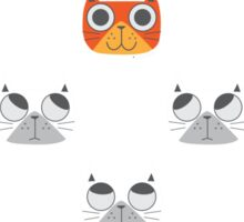 We are watching you. MEOW!!! Sticker