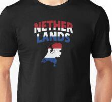 Netherlands flag map Unisex T-Shirt