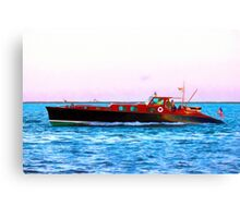 Returning To Watch Hill Canvas Print