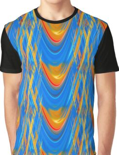 Bright and Cheerful Abstract Graphic T-Shirt