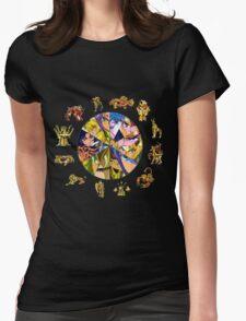 saint_seiya Womens Fitted T-Shirt