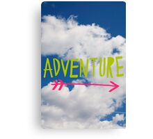 Adventure Sky Canvas Print