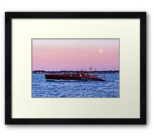 Aphrodite Under The Moon Framed Print