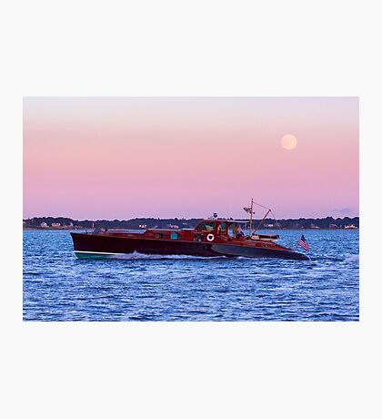 Aphrodite Under The Moon Photographic Print