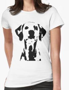 Dalmation Womens Fitted T-Shirt