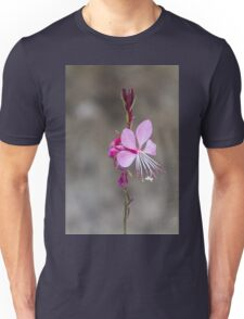 pink flower in the garden Unisex T-Shirt