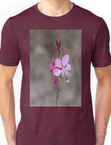 pink flower in the garden Unisex T-Shirt