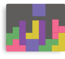 Decent Game of Tetris Canvas Print