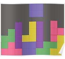 Decent Game of Tetris Poster