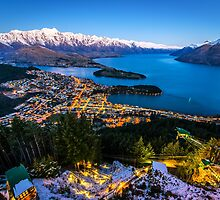 Queenstown Glow by Adrian Alford Photography