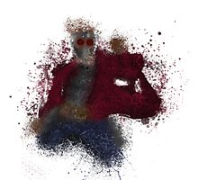 STAR-LORD Splatter Photographic Print