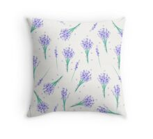 Lavender in Cool Throw Pillow