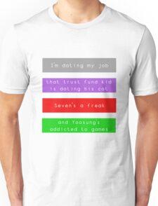 Mystic Messenger | No Girlfriends Unisex T-Shirt