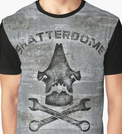 Shatterdome Maintenance Team - Distressed Graphic T-Shirt
