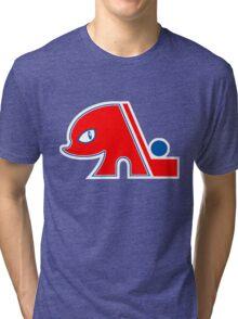 Quebec (K)Nordiques Tri-blend T-Shirt