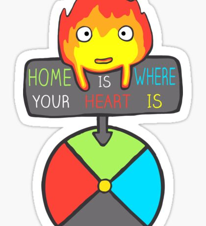 Moving Home Sticker