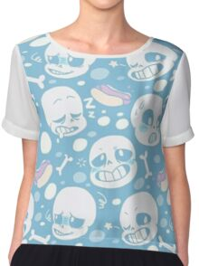 Art of Undertale Videogame Chiffon Top