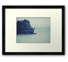 Adventure Island Framed Print