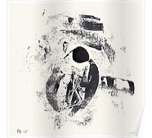Typographical Grenades #2 - Monotype Poster