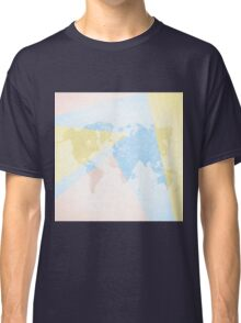 World Map Light Classic T-Shirt