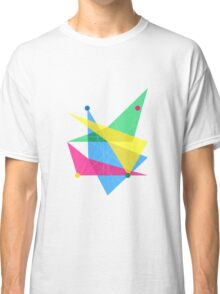 Abstract Slanted Rectangle Classic T-Shirt