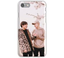Jackson and BamBam blossom tree iPhone Case/Skin