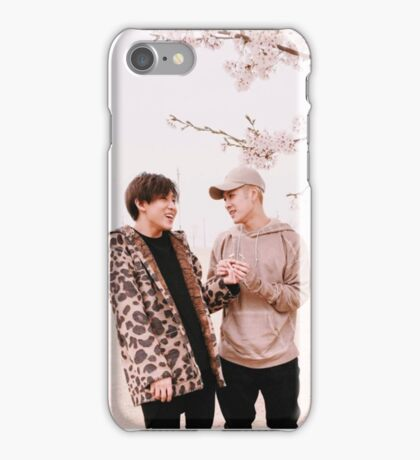 Jackson and BamBam blossom tree iPhone Case/Skin