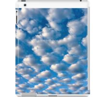 clouds perspective iPad Case/Skin