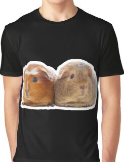 Two adorable guinea pigs Graphic T-Shirt
