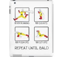 One Punch Man Workout iPad Case/Skin