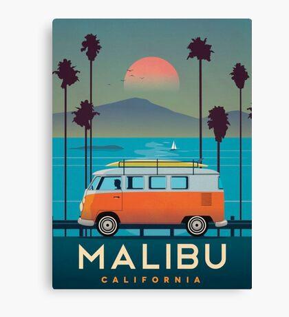 Malibu Canvas Print