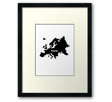 Europe Home Framed Print